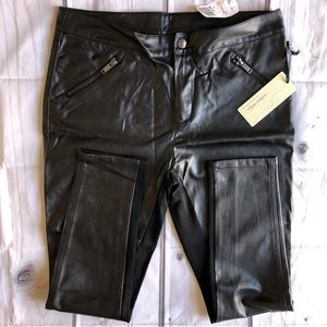 Faux Leather Pants Forever 21 Large NWT